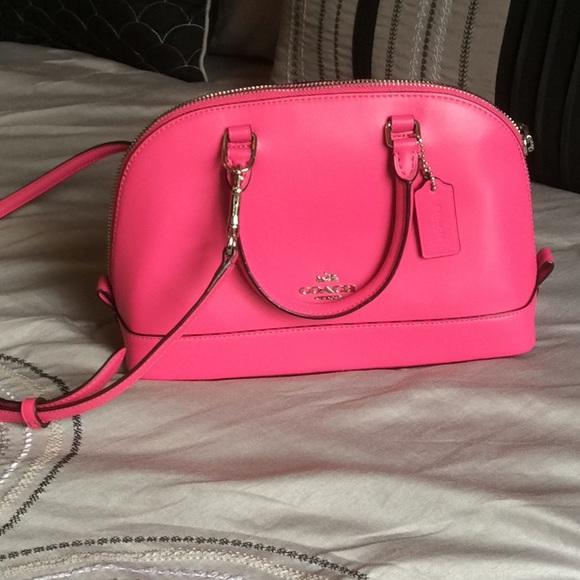 c3030754eec Coach Bags | Hot Pink Crossbody | Poshmark